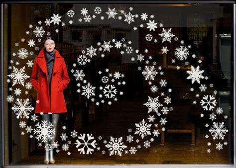 easy christmas window displays white christmas store display ideas retail details blog