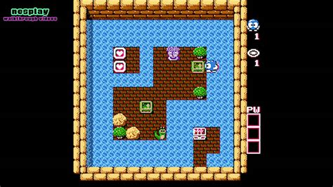 Adventures Of Lolo Walkthrough [floor 6-5]