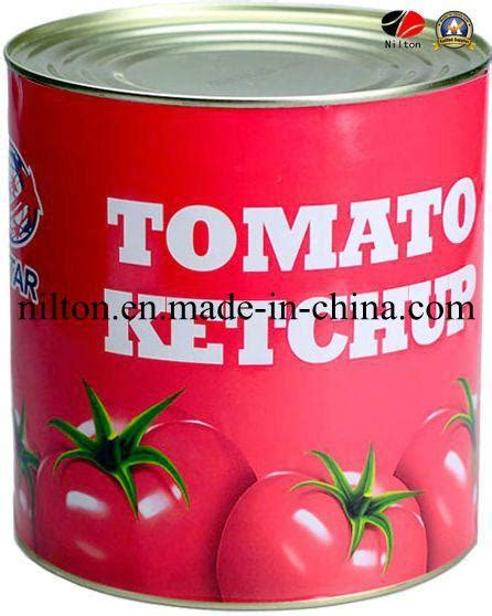 Delicious Chinese Aseptic Canned Tomato Paste Ketchup ...
