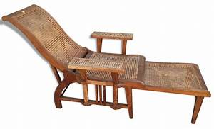Chaise En Rotin : chaise longue en rotin ~ Preciouscoupons.com Idées de Décoration