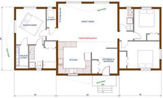 simple open floor plans best open floor house plans cottage house plans