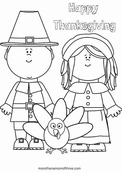 Thanksgiving Crafts Activities Printable Coloring Pages Pilgram