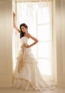 wedding inspiration ivory wedding dresses With white ivory wedding dress