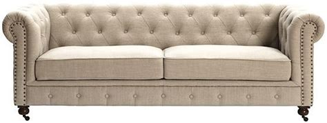 natural linen chesterfield 1149 home goods pinterest