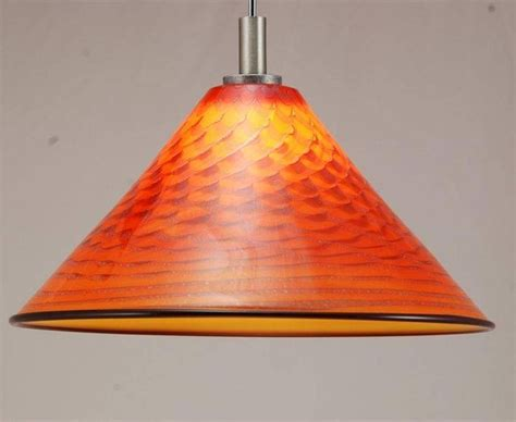 orange pendant lights kitchen 15 ideas of orange glass pendant lights 3765