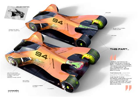 Le Glühbirne Design by Le Mans 2030 Concept For Michelin Design Challenge 2017