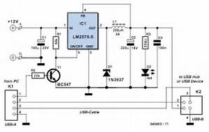 Powered Usb Hub Circuit Diagram