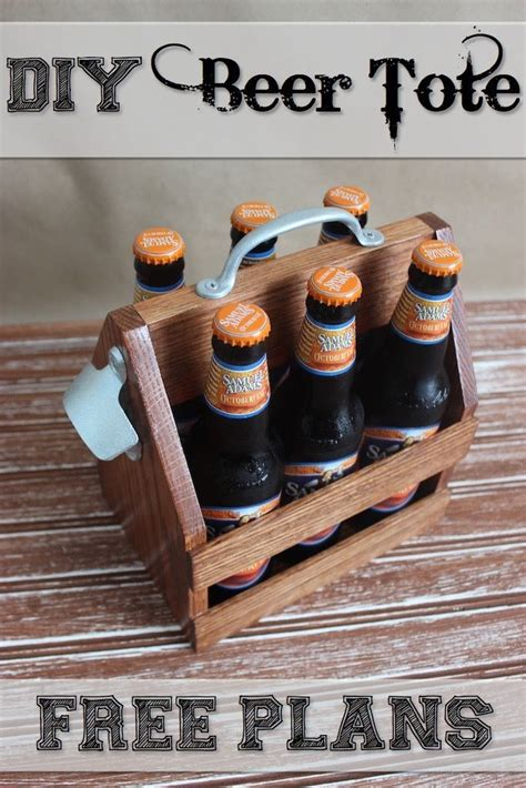 beer tote woodworking projects diy easy woodworking