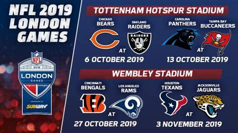 nfl london games  american football visitlondoncom