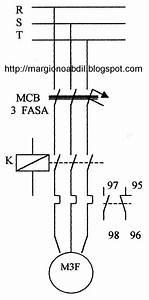 Blog Teknik  U0026 Vokasi  Pengasutan Motor 3 Fasa Bekerja