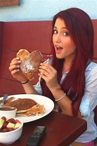 Ariana Grande with Red Hair
