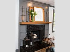 Fixer Upper OldWorld Charm for Newlyweds Wood mantels