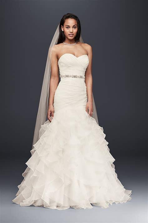 Ruffles Wedding Dress Photos Ruffles Wedding Dress