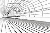 Tunnel Train Vector Clipart Illustration Absence Istock Source  sketch template