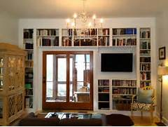 Apartment Bedroom Living Room With Bookshelves Bookshelf Designs Tree Bookshelves That Creatively Display Collections In Style By Adding The Bookshelves To The Window Wall Designers Were Able To Bedrooms With Bookshelves 01 1