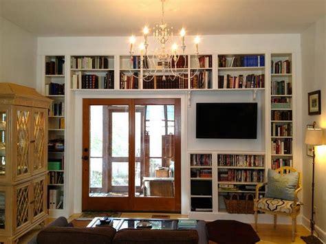 Alluring Glass Door Bookshelves Design Ideas Design Ideas