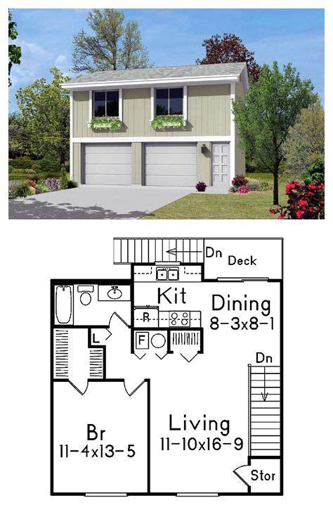 car garage apartment plan number    bed