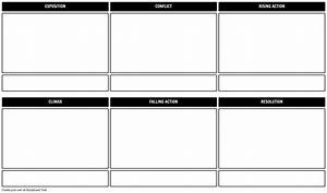 Plot Diagram Planner Storyboard Template Storyboard