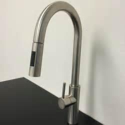 kitchen faucet modern goose shaped brushed nichel kitchen faucet