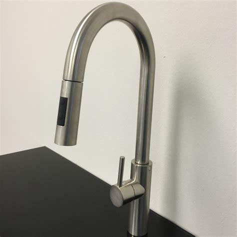 modern faucet kitchen goose shaped brushed nichel kitchen faucet