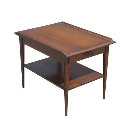 end tables vintage mid century scandinavian style mahogany end table ebay