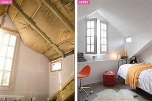 amenagement combles chambre sous les toits maison creative With chambre sous les toits