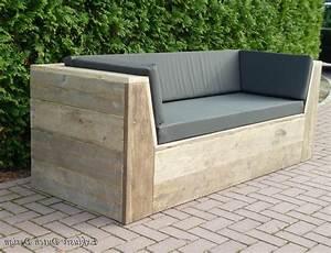 sofa bauen excellent sofa fr balkon bild das sieht With französischer balkon mit garten couch holz