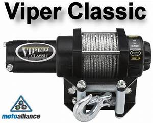 Find Viper Classic 3000lb Atv Winch By Motoalliance