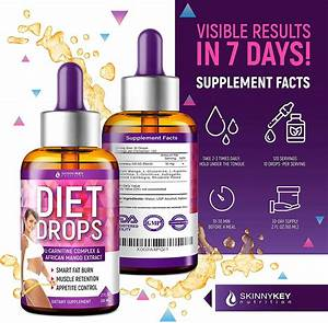 Diet Drops With L-carnitine Most Effective Fat Burner - Appetite Suppressant