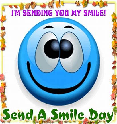 Smile Sending Send Cards Card Greeting Wishes