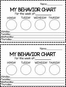 Four Day Behavior Chart By A Head Start Preschool Tpt