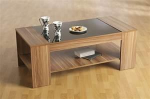 Beistelltische Holz : beistelltisch aus holz mit glasplatte ~ Pilothousefishingboats.com Haus und Dekorationen