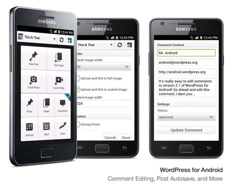 New Wordpress Apps For Android And Ios