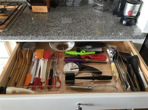 custom kitchen drawer organizers kitchen utensil drawer organization custom acrylic 6385