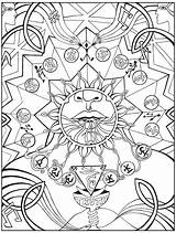 Chakra Throat Coloring Pages Bindu Chakras Eye Referred Purification Vishuddha 3rd Draw Sketch Mandala Negative Thoughts sketch template