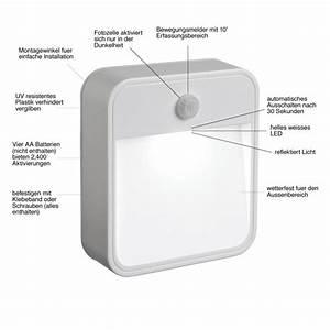 Led Licht Batterie : mr beams batteriebetriebenes led nachtlicht mit bewegungssensor wei mb723 3 er pack amazon ~ Watch28wear.com Haus und Dekorationen