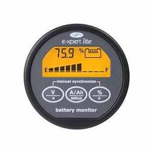 Battery Monitor - Expert Lite  12v-24v