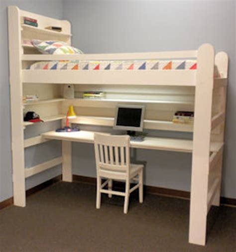 diy loft bed with desk how to make your own loft bed in easy 5 steps interior
