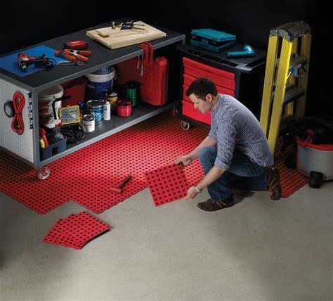 TechFloor from WeatherTech Garage Floor TIle