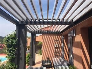 Pergola Bioclimatique Sur Mesure : installation d 39 une pergola bioclimatique sur mesure ~ Melissatoandfro.com Idées de Décoration