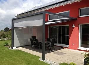 Terrassen Sonnenschutz Systeme : freistehende markisen hochwertiges beschattungssystem ~ Markanthonyermac.com Haus und Dekorationen