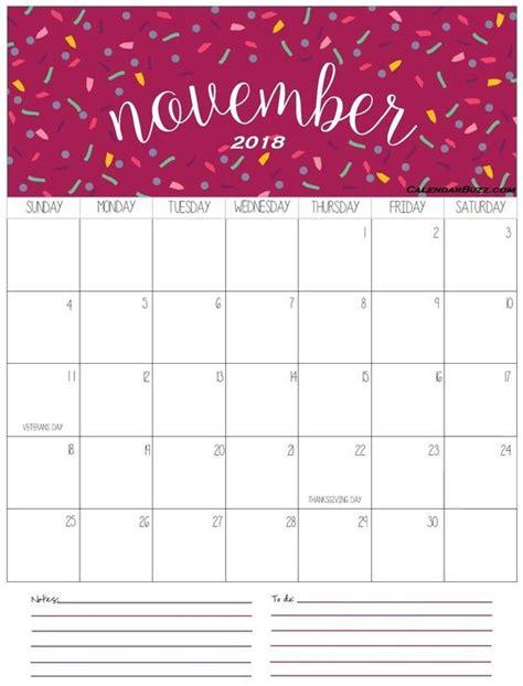 cute november  calendar images calendar printables