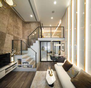 luxury modern loft studio apartment bangkok thailand