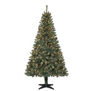 6 5 ft wesley spruce artificial christmas tree with 400 clear lights christmas trees