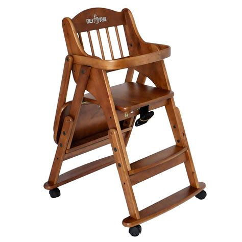 baby products sallei baby dining chair solid wood baby