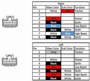 Brz Headlight Pin  Wiring Diagram