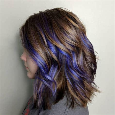 Top 25 Blue Hair Streaks Ideas For Girls Sheideas