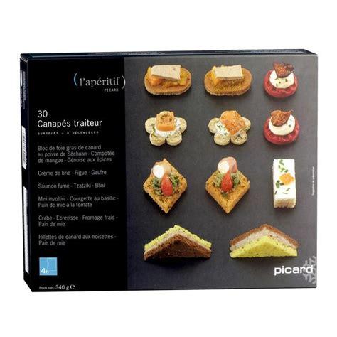 canapes de luxe picard 30 deluxe canapes frozen 340g from ocado