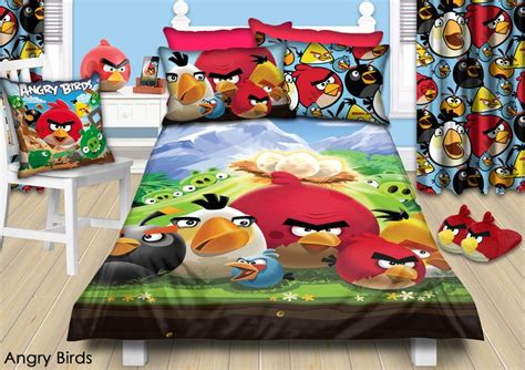 Angry Birds Bedroom Decor by Colourful Angry Birds Bedroom Http Www Charactergroup
