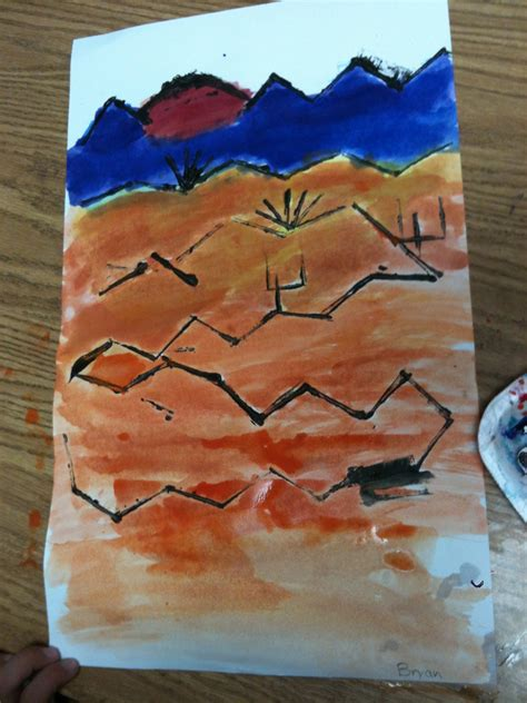 paul klee painted desert   grade   artk  art